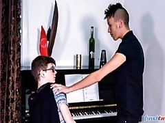 The Piano Lesson - French twinks Abel Lacourt and Kevin Ventura
